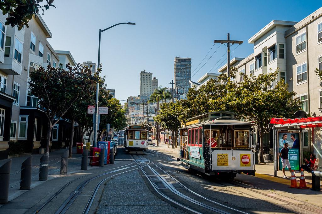 Cable Car San Francisco in 3 Tagen aktiv entdecken – Reisetipps, Highlights und besondere Aktivitäten
