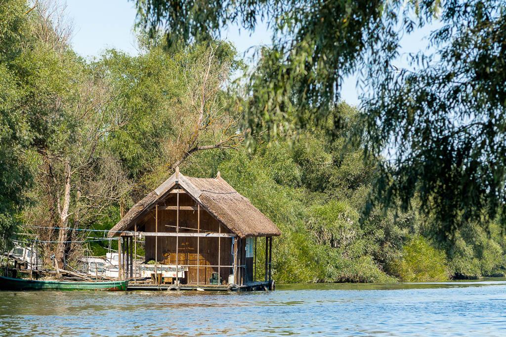 Fischer Haus Bootstour von Tulcea in das Donaudelta Rumänien