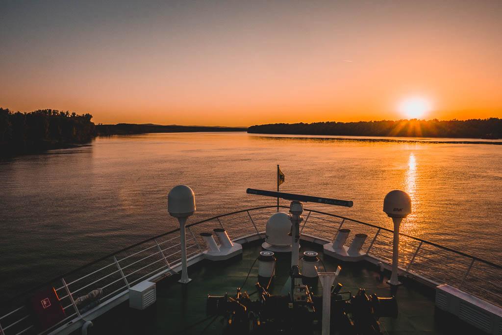 Flusskreuzfahrt Donau Bootstour von Tulcea in das Donaudelta Rumänien