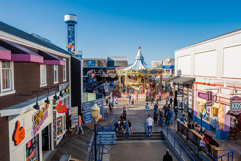 Pier 39 Fishermans Wharf San Francisco in 3 Tagen aktiv entdecken – Reisetipps, Highlights und besondere Aktivitäten
