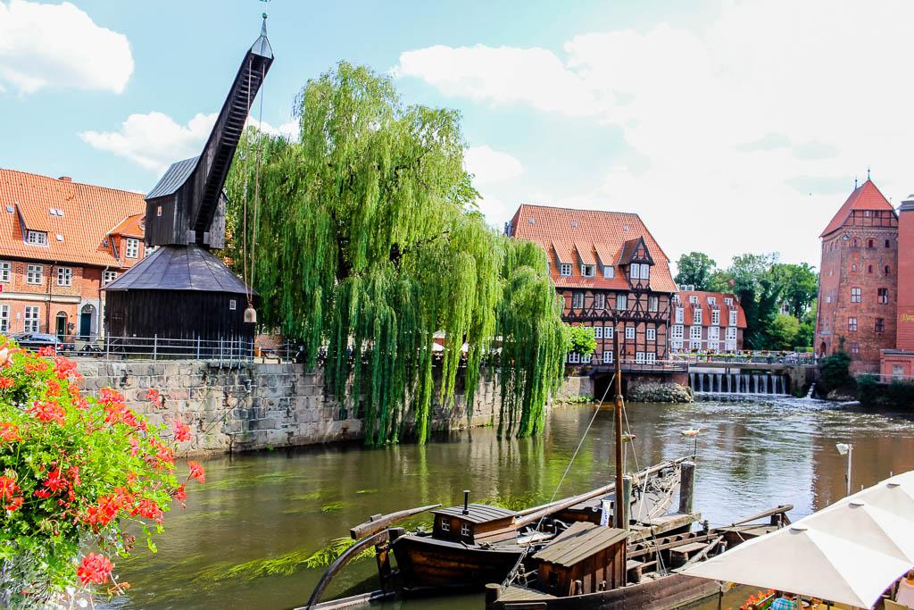 Das Wasserviertel und der Stintmarkt 10 Dinge die man in Lüneburg machen sollte! Sehenswürdigkeiten und Tipps für die Hansestadt
