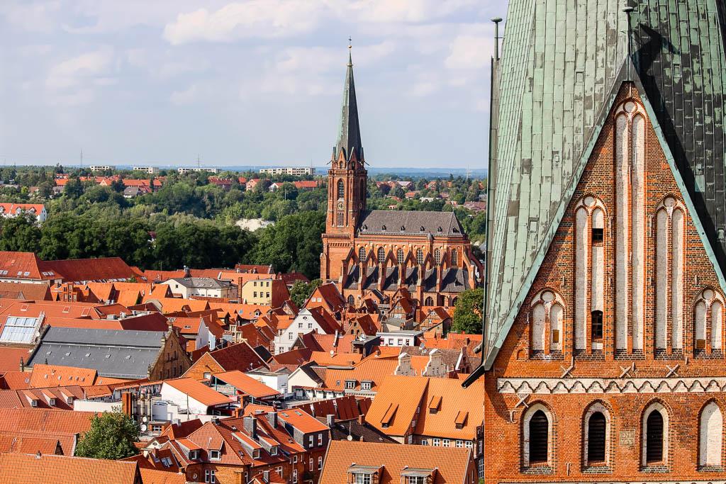 Ausblick vom Wasserturm 10 Dinge die man in Lüneburg machen sollte! Sehenswürdigkeiten und Tipps für die Hansestadt