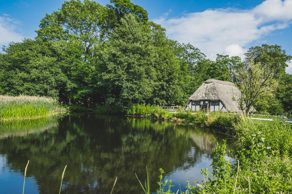 Oernbjerg Mühle im Nationalpark Mols Bjerge Urlaub in Djursland: Ausflugsziele und Sehenswürdigkeiten rund um Ebeltoft Dänemark