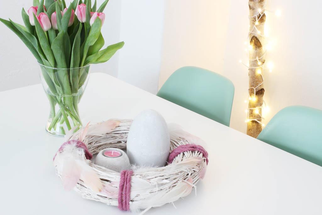 Osterkranz basteln: Dekoration für Ostern