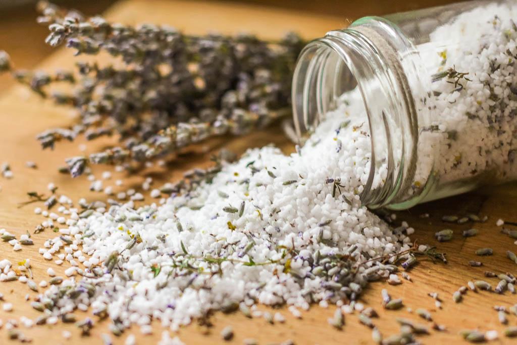 Rezept für Lavendel-Thymian-Zitronen-Salz
