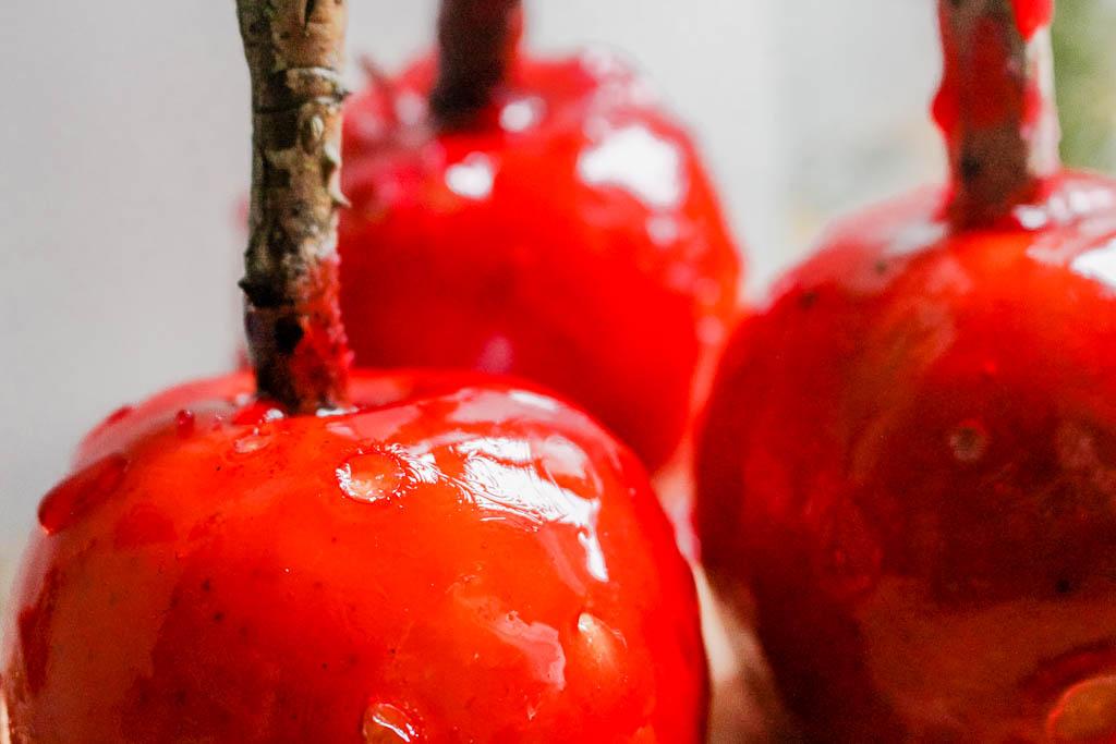 Rezept für selbst gemachte Liebesäpfel