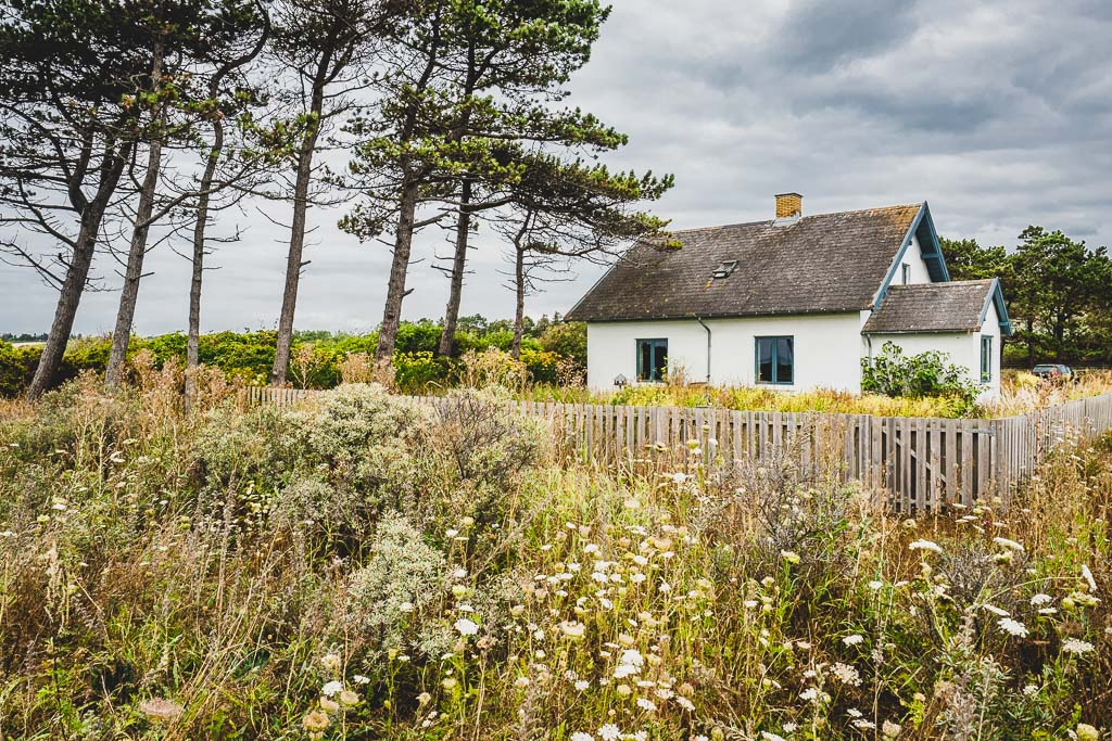 Haus am Sletterhage Leuchtturm in Dänemark Urlaub in Djursland: Ausflugsziele und Sehenswürdigkeiten rund um Ebeltoft Dänemark