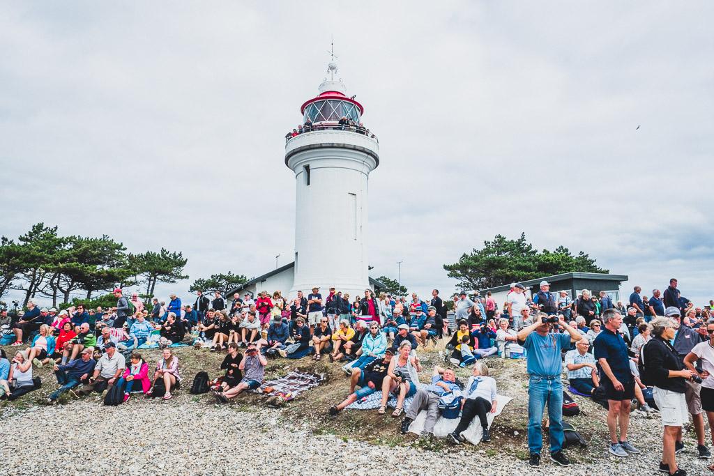 Tall Ship Race am Leuchtturm Sletterhage in Dänemark Urlaub in Djursland: Ausflugsziele und Sehenswürdigkeiten rund um Ebeltoft Dänemark