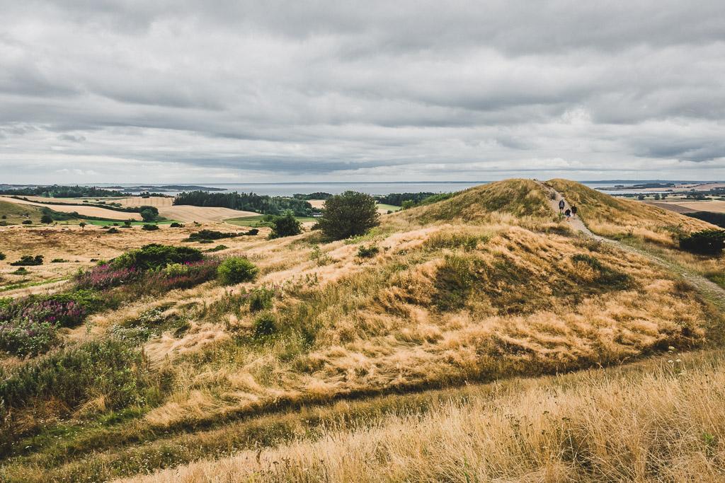 Aussichtspunkt Trehøje im Nationalpark Mols Bjerge in Dänemark Urlaub in Djursland: Ausflugsziele und Sehenswürdigkeiten rund um Ebeltoft Dänemark