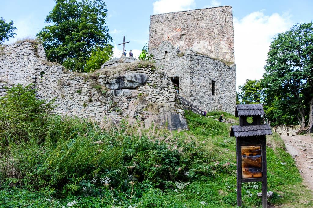 Radtour zur Burg Wittigstein Besondere Aktivitäten und Abenteuer am Lipno Stausee in Tschechien