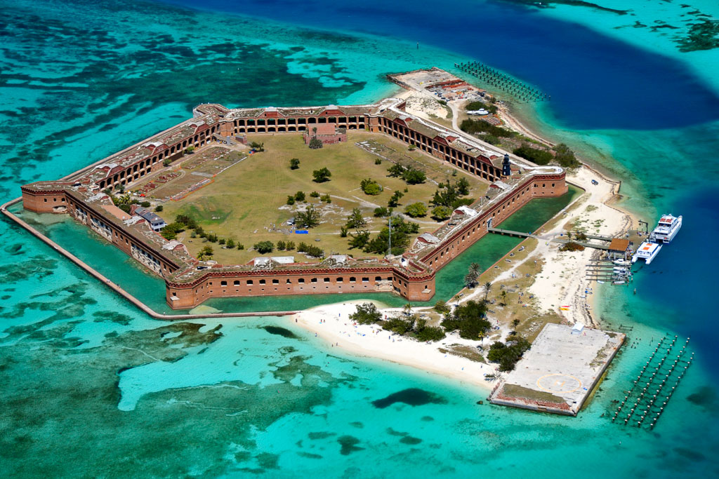 Fort Jefferson Dry Tortugas Florida Keys (c) Rob O'Neal