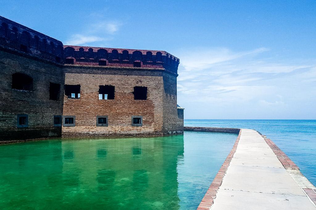 Fort Jefferson at Dry Tortugas Florida Keys(c) Julia Hövelkamp