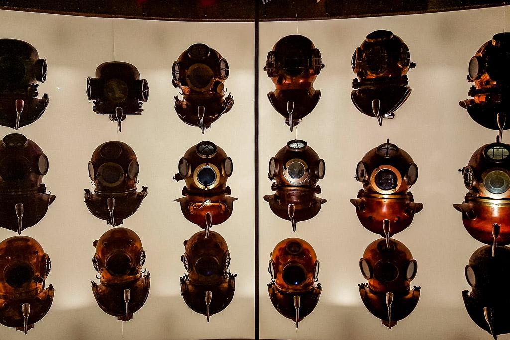 History of Diving Helmet Florida Keys Collection (c) Julia Hövelkamp