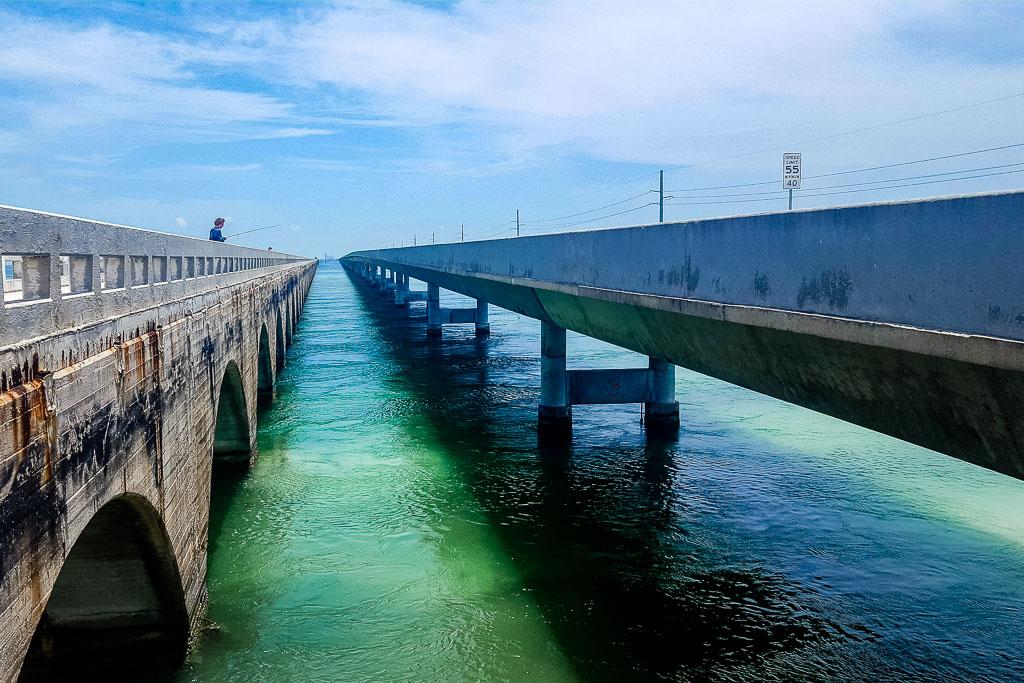 New and old Seven Mile Bridge Florida Keys (c) Julia Hövelkamp
