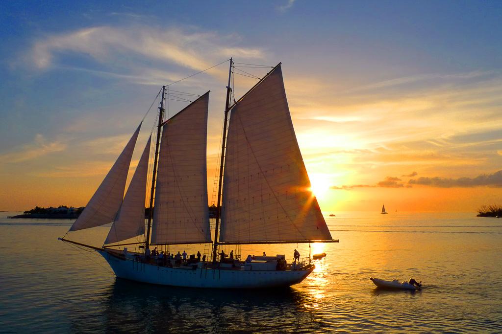 Sunset Sail Florida Keys (c) Rob O'Neal