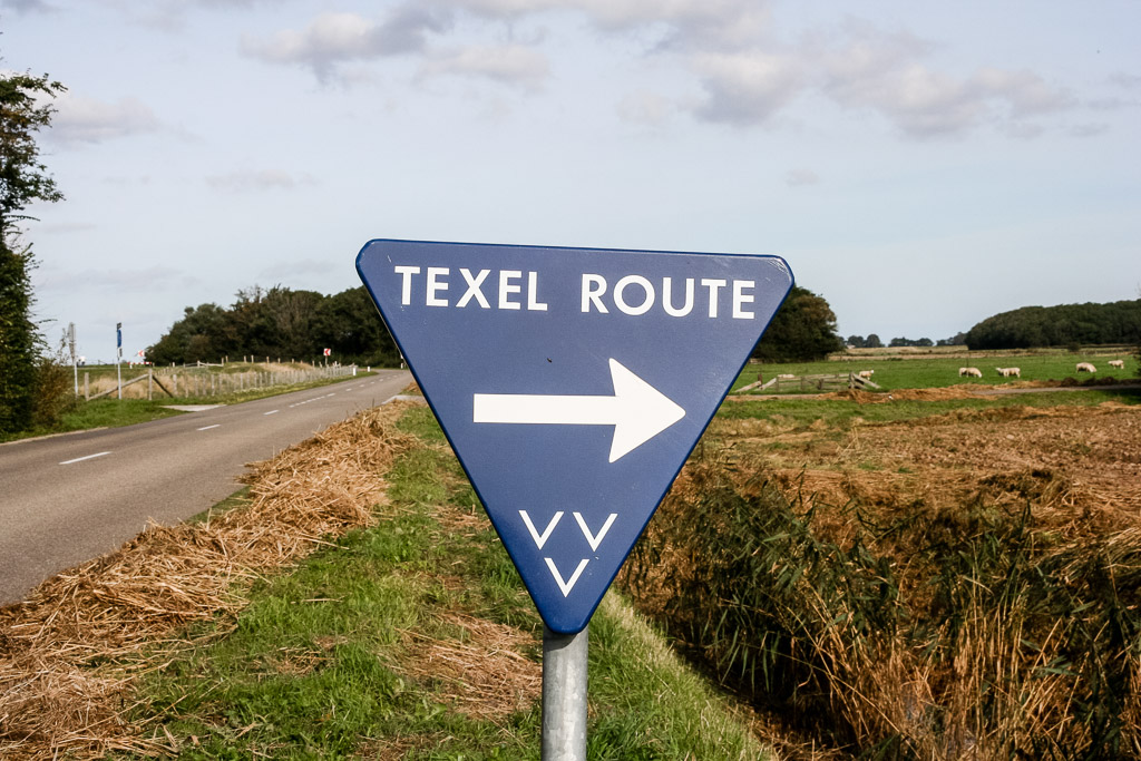 Wegweiser Texel Route-Foto VVVTexel