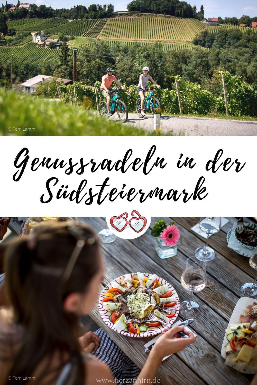 Radfahren in der Steiermark Pinterest Grafik Fotos: Tom Lamm