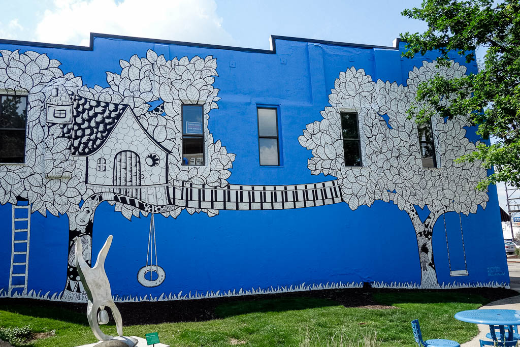 Downtown Murals in Rockford Illinois