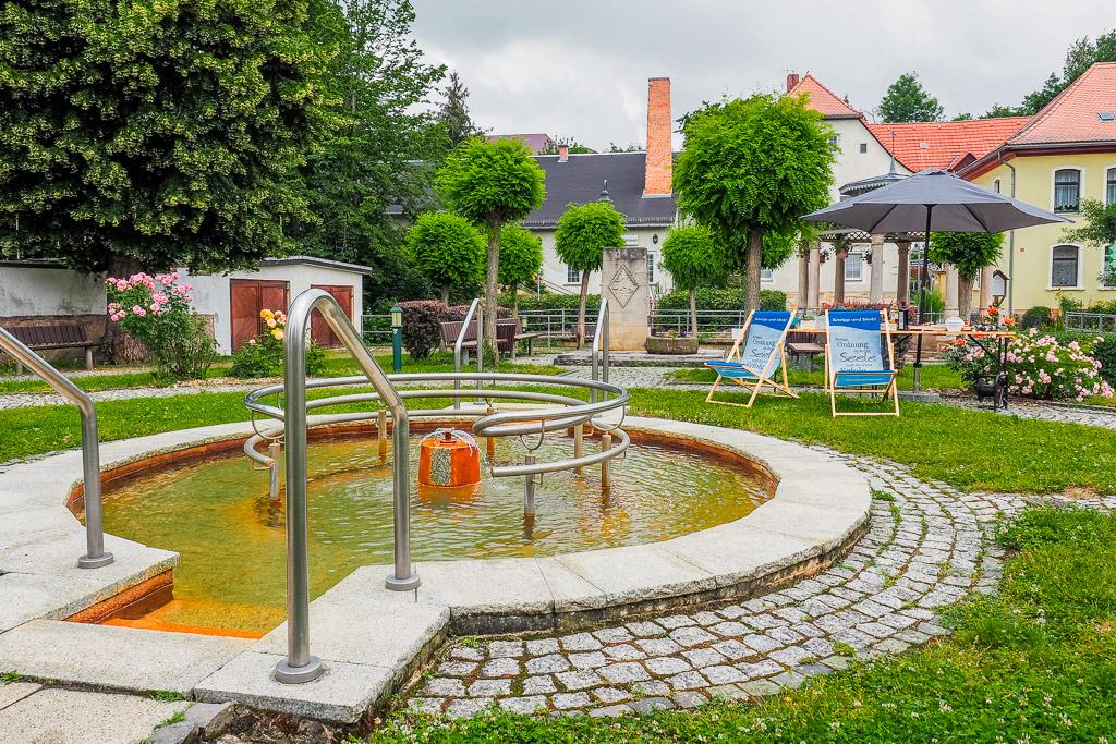 Saale-Unstrut Region Badeplatz Bad Bibra