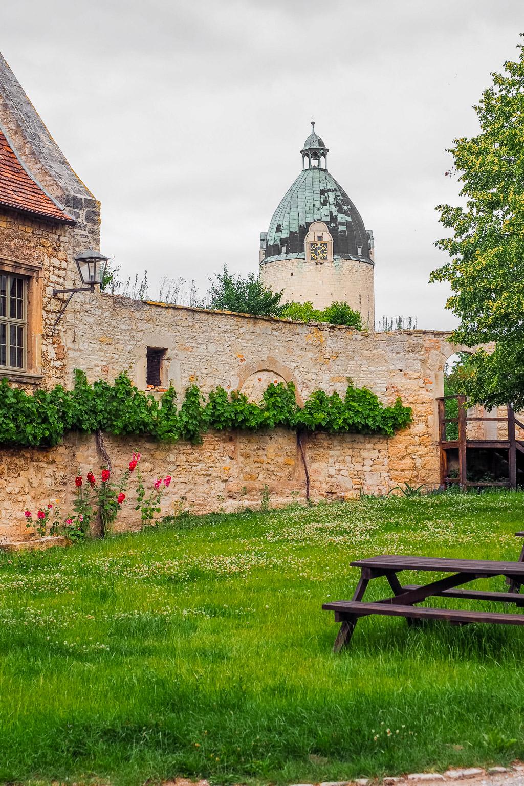 Saale-Unstrut Region Schloss Neuenburg