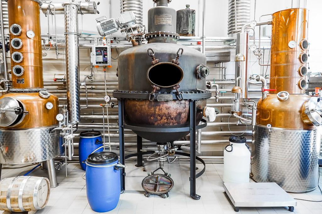 Saale-Unstrut Region Whisky Manufaktur Zeitz