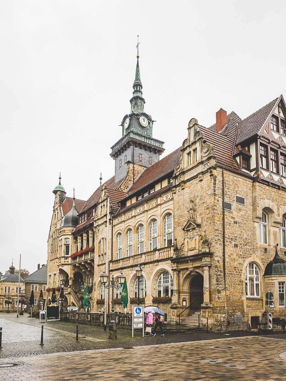 Weserbergland Sehenswürdigkeit Altstadt Bückeburg