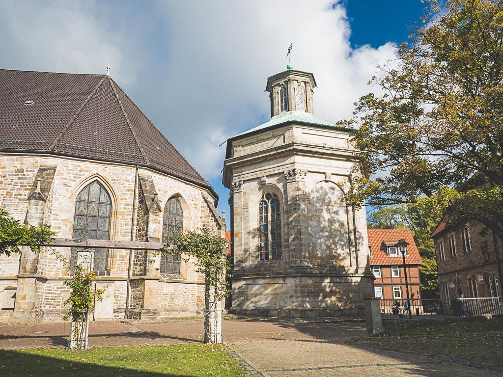 Weserbergland Sehenswürdigkeit Mausoleum Stadthagen