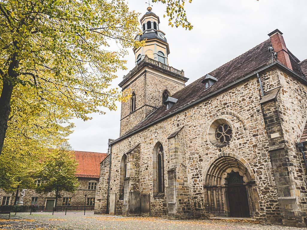 Weserbergland Sehenswürdigkeit Nikolai Kirche Altstadt Rinteln