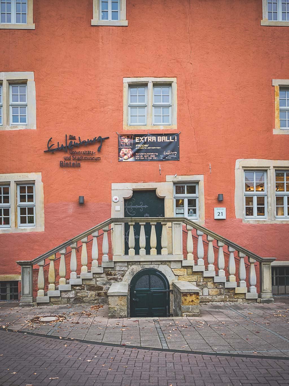 Weserbergland Sehenswürdigkeit Museum Eulenburg Altstadt Rinteln