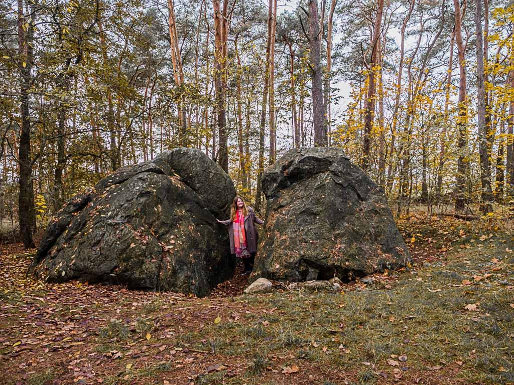 Heimchensteine in Glienicke in Möckern in Sachsen-Anhalt