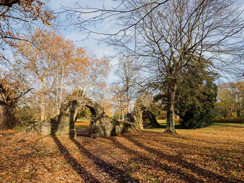 Schlosspark Möckern in Sachsen-Anhalt