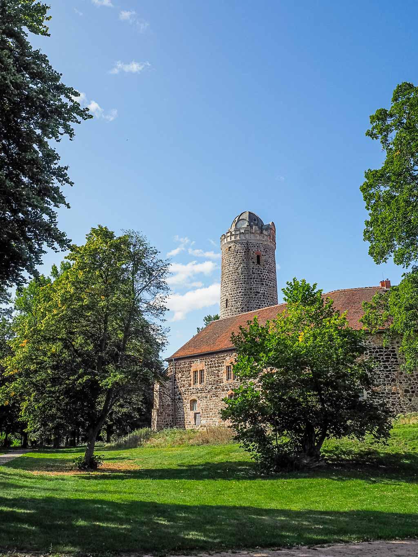 Wanderung Burg Ziesar in Brandenburg