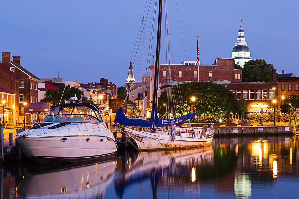 Capital Region USA Maryland Annapolis Ego Alley