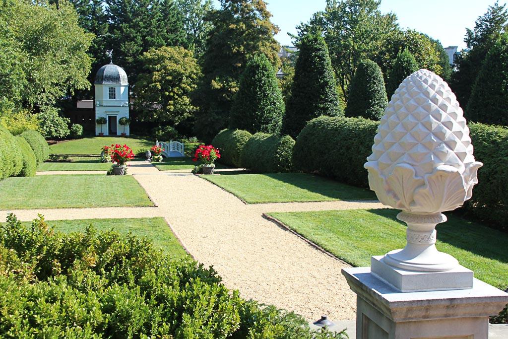 Capital Region USA Maryland Annapolis Wiliam Paca House und Garten