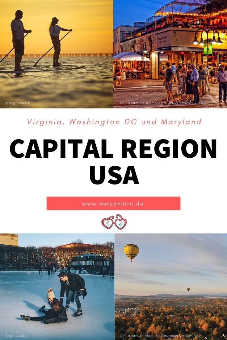 Capital Region USA Pinterest Grafik