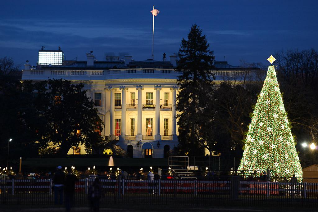 Capital Region USA Washington, DC Weihnachtsbaum