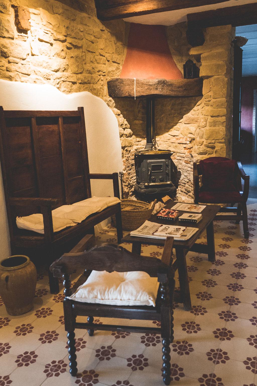 Gallipienzo Hotel Heredad Beragu in der Navarra in Spanien