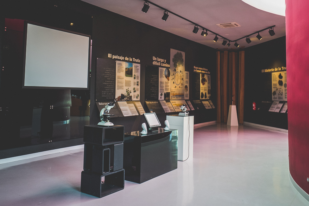 Museo de la Trufa in Metauten in der Navarra in Spanien