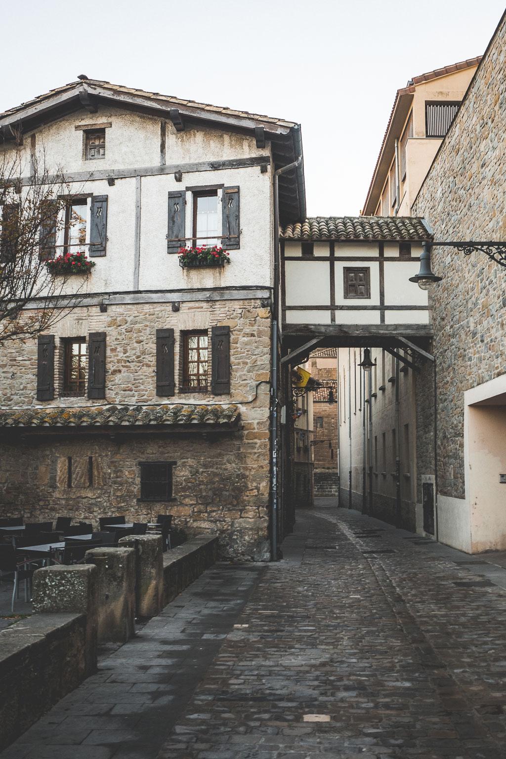 Altstadt Pamplona in der Navarra in Spanien