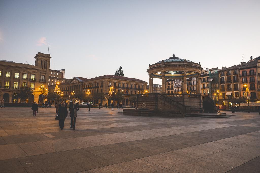 Pamplona in der Navarra in Spanien