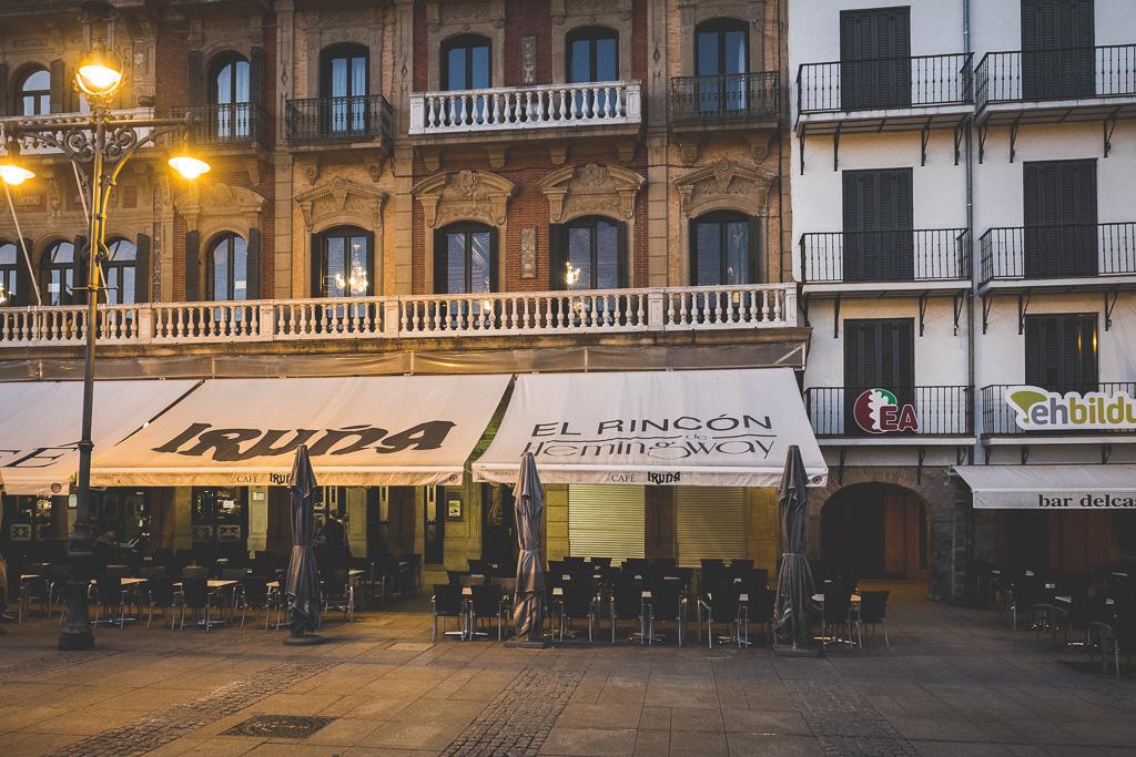 Café Iruña Pamplona in der Navarra in Spanien