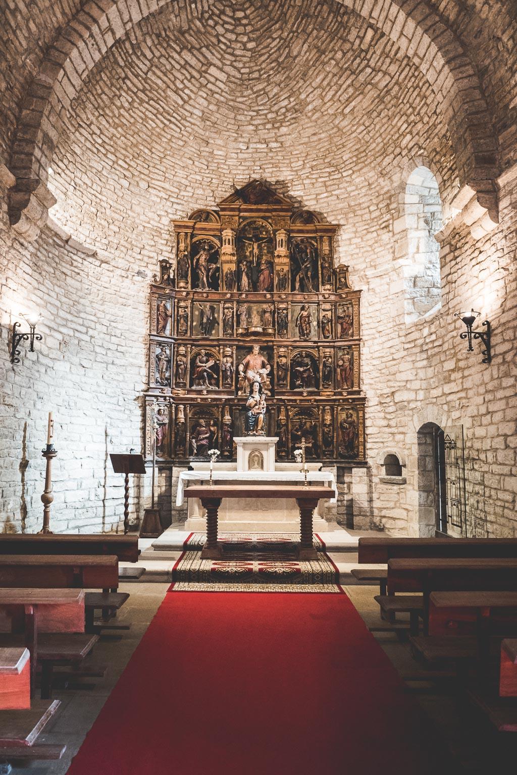 Kirche im Weingut Bodega Otazu in der Navarra in Spanien