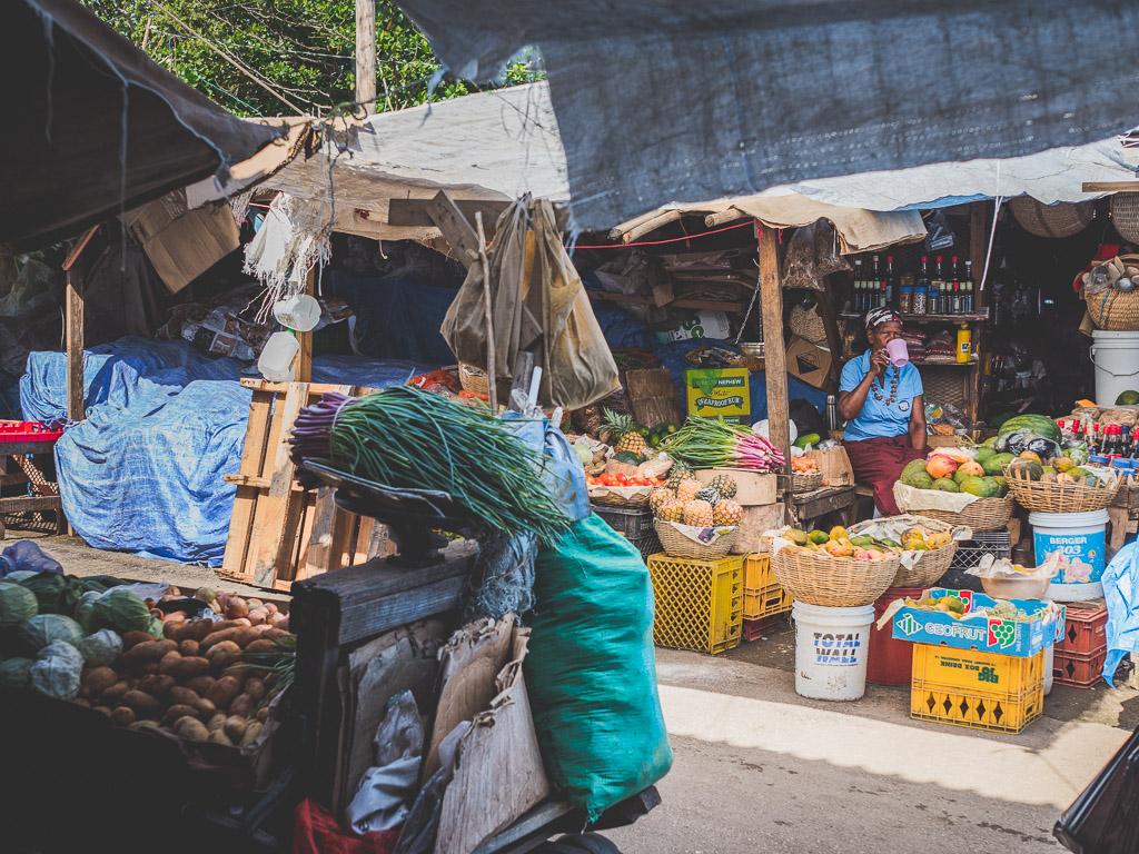 Charles Gordon Markt in Montego Bay Sehenswürdigkeit Jamaika