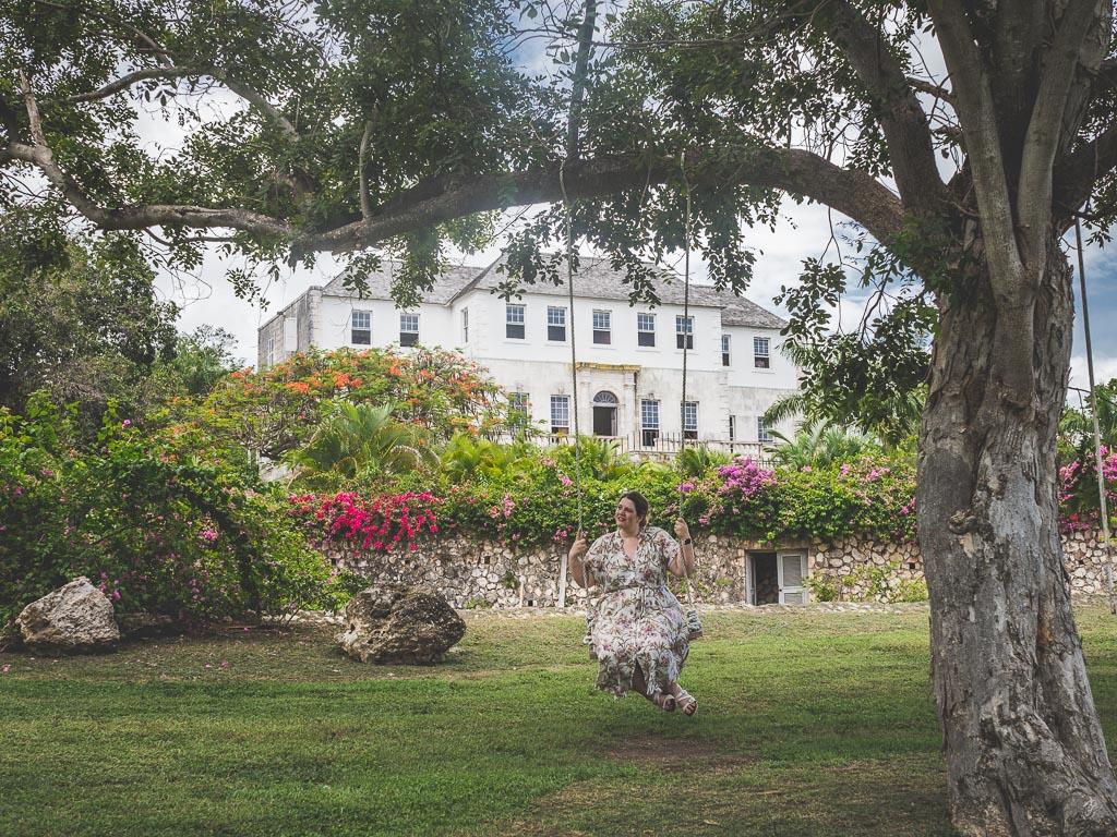 Rose Hall Great House in Montego Bay Sehenswürdigkeit Jamaika