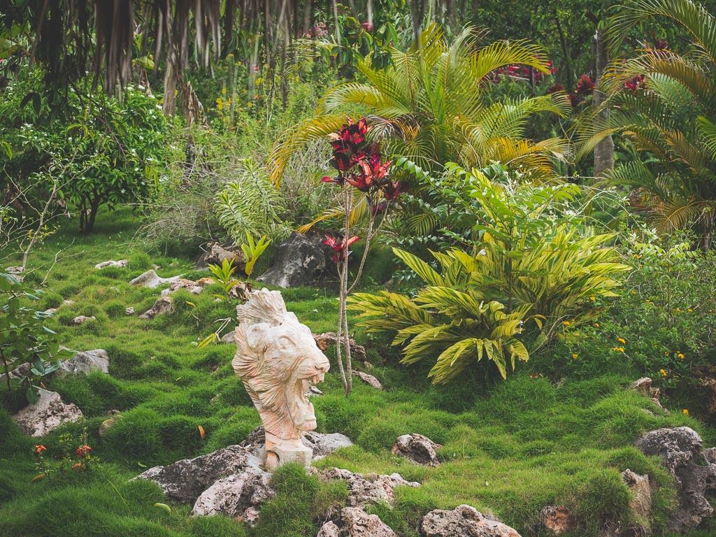 Jamaica Giants Sculpture Park in Negril Sehenswürdigkeit Jamaika