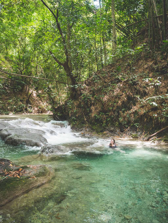 Mayfield Falls in Negril Sehenswürdigkeit Jamaika