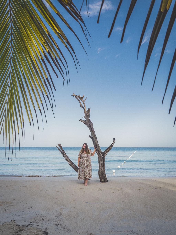 Seven Mile Beach in Negril Sehenswürdigkeit Jamaika